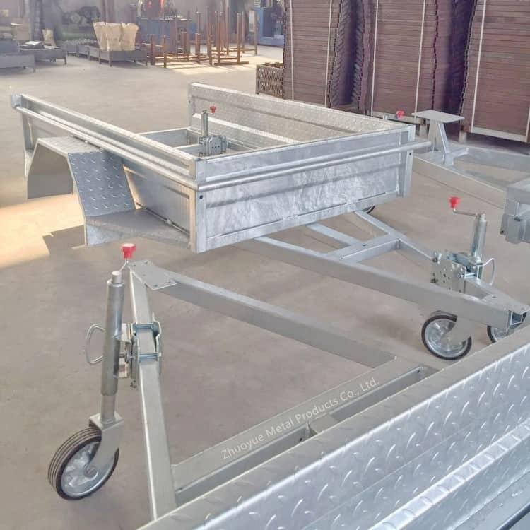 aluminum trailer chassis frame 2