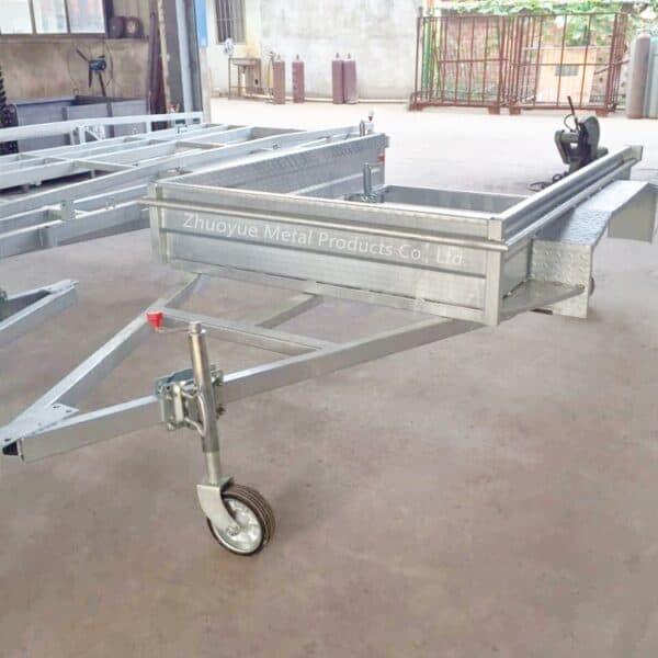 aluminum trailer chassis frame 3