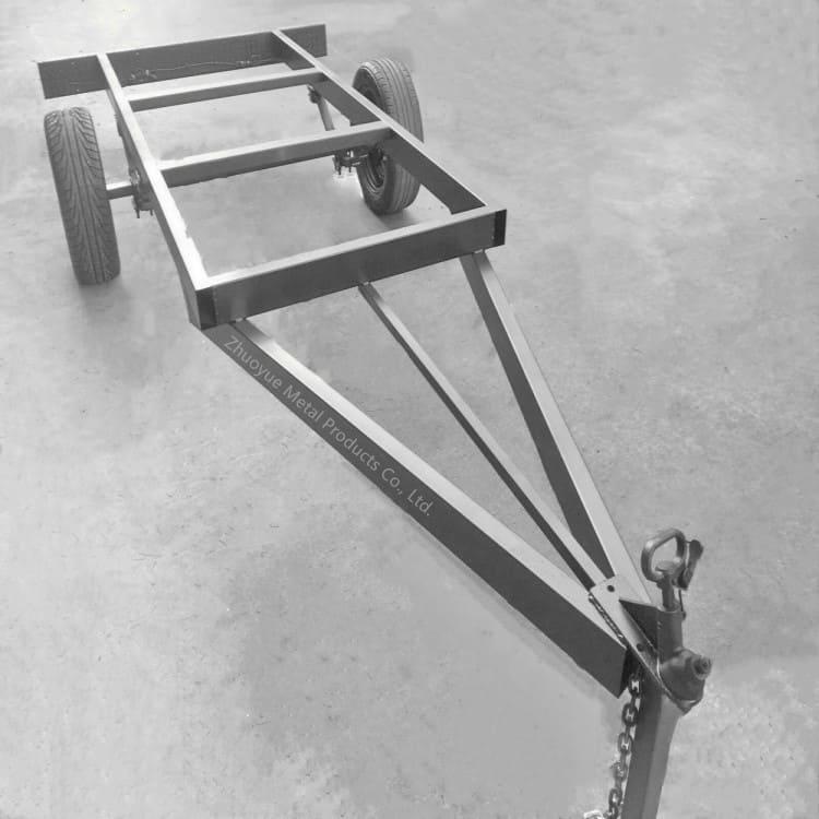 aluminum trailer chassis frame