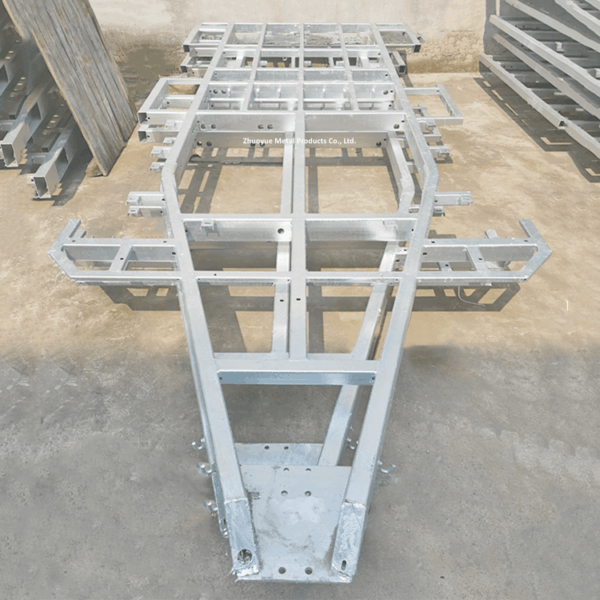 heavy duty trailer chassis frame 1