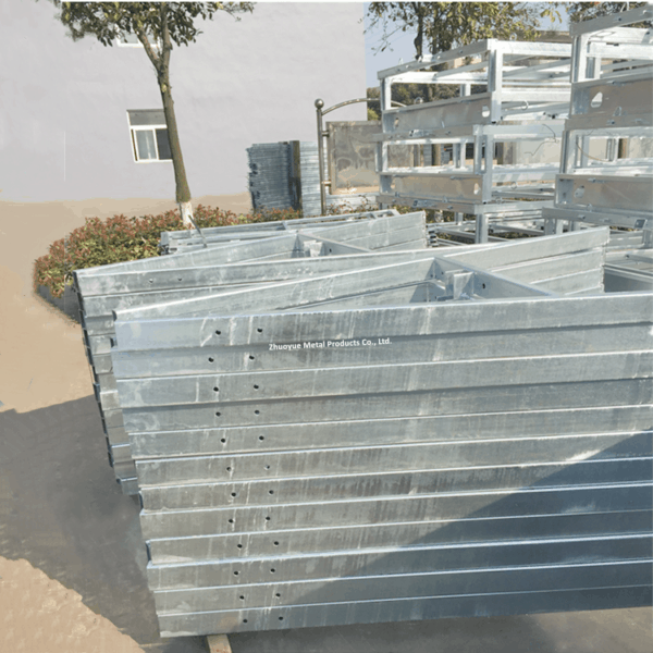 heavy duty trailer chassis frame 2