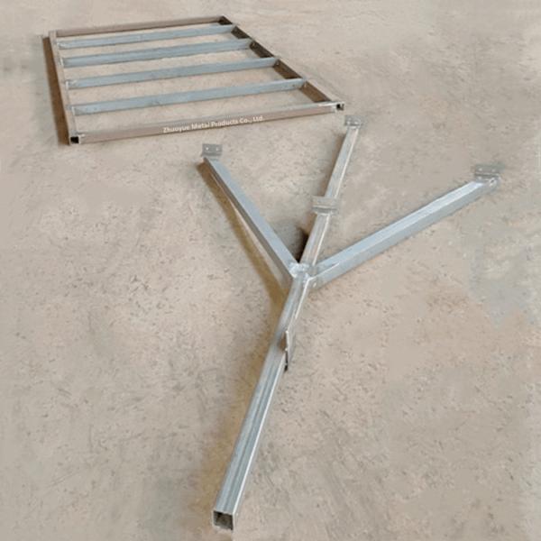 mini steel trailer frame