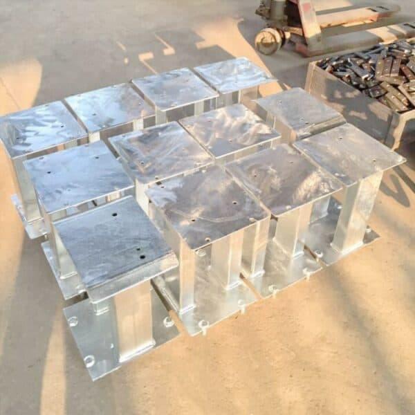 metal fabrication with hot-dip galvanization
