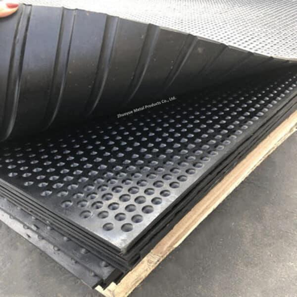 cow horse rubber mat